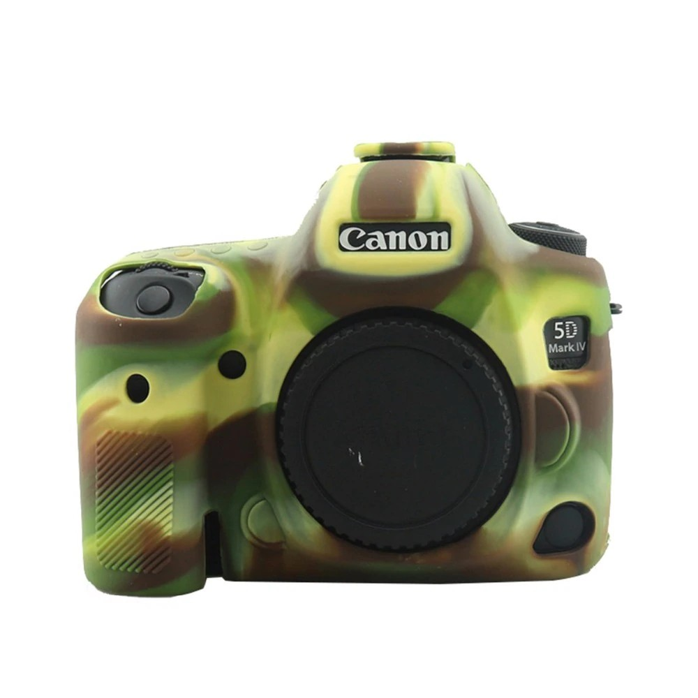 Color : Color1 Soft Silicone Protective Case for Canon EOS 5D Mark IV Durable