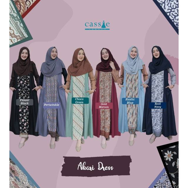 Akari Dress Vol 2 By Cassie Ready Stock Shopee Indonesia