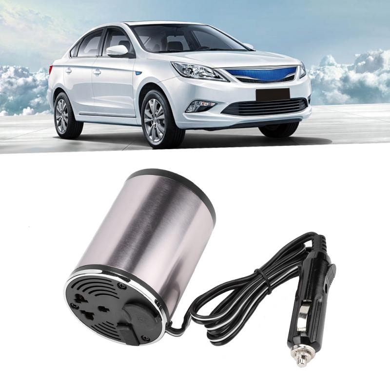 KKmoon 500/W Car Power Inverter DC 12/V to AC 110/V 60Hz with 4/Built-In USB Ports//2/AC sockets