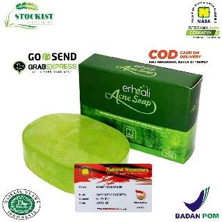 Erhsali Anti Acne Soap NASA Penghilang Jerawat - ERSHALI Stockist Pt Nasa Produk thumbnail