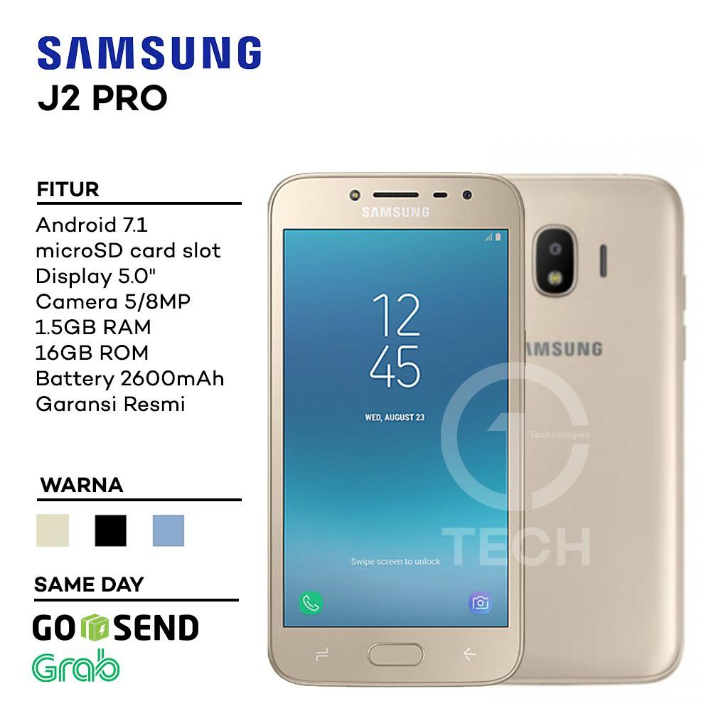 Samsung Galaxy J2 Pro Garansi Resmi Sein Shopee Indonesia A9 2016 32gb Hitam