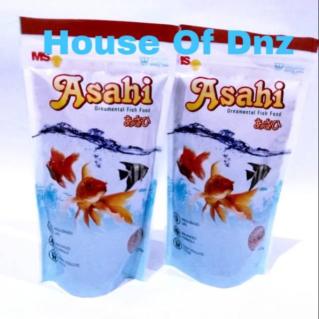 Pakan Ikan Asahi 100 Gr Pelet Ikan Asahi Pakan Ikan Hias Asahi