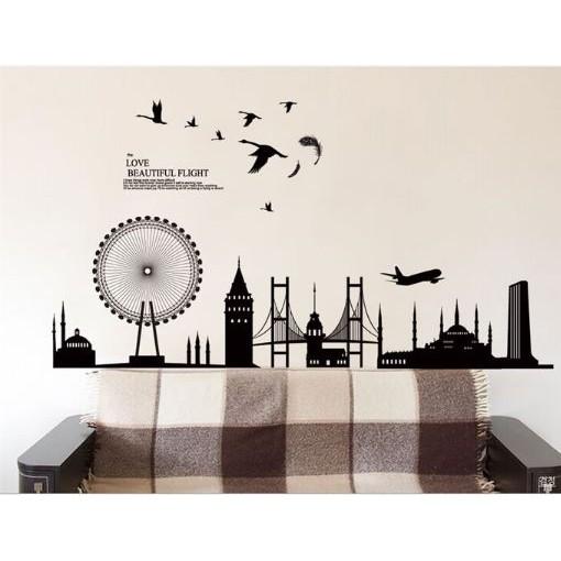 STIKER DINDING wall sticker/wall stiker 50x70 transparan-AY752-under water | Shopee Indonesia