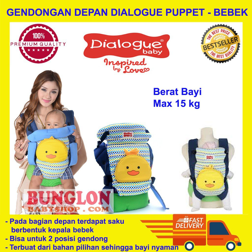 Gendongan Ransel 2 In 1 Dialogue Owl Series Shopee Indonesia Baby Carrier Sirkulasi Hijau