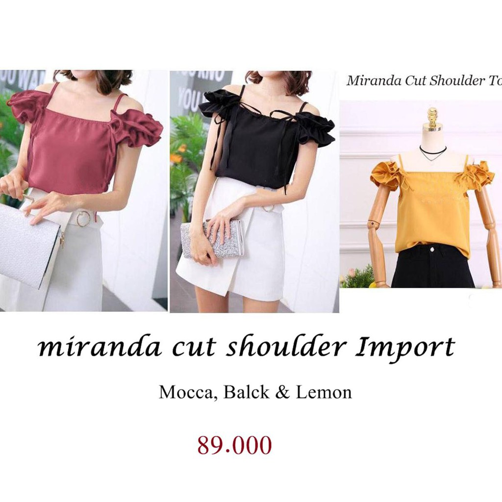 Top Knit Murah Baju Bangkok Terbaru Berkualitas Blouse Rajut Hand Leaves | Shopee Indonesia