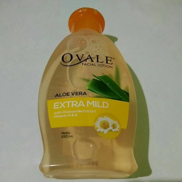 OVALE Facial Lotion Aloe Vera Pembersih Make Up ( Pepaya ) 100 ml   Shopee Indonesia
