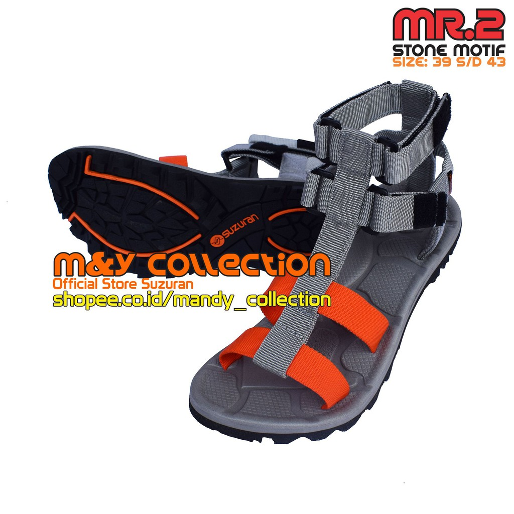 Toko Online My Collection Shopee Indonesia Suzuran Sandal Gunung Cross Thumb Mr2 Brown