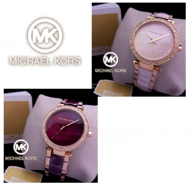 a4bccddf997d Jam Tangan Wanita Merk Michael Kors Paris Ori Bm Type   MK 5716 ...