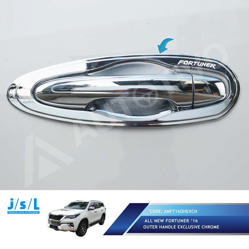 All New Fortuner Outer Handle Cover Jsl Exclusive Chrome Croom Avanza Xenia Mangkok Pintu Terios 2018 Krom Shopee Indonesia