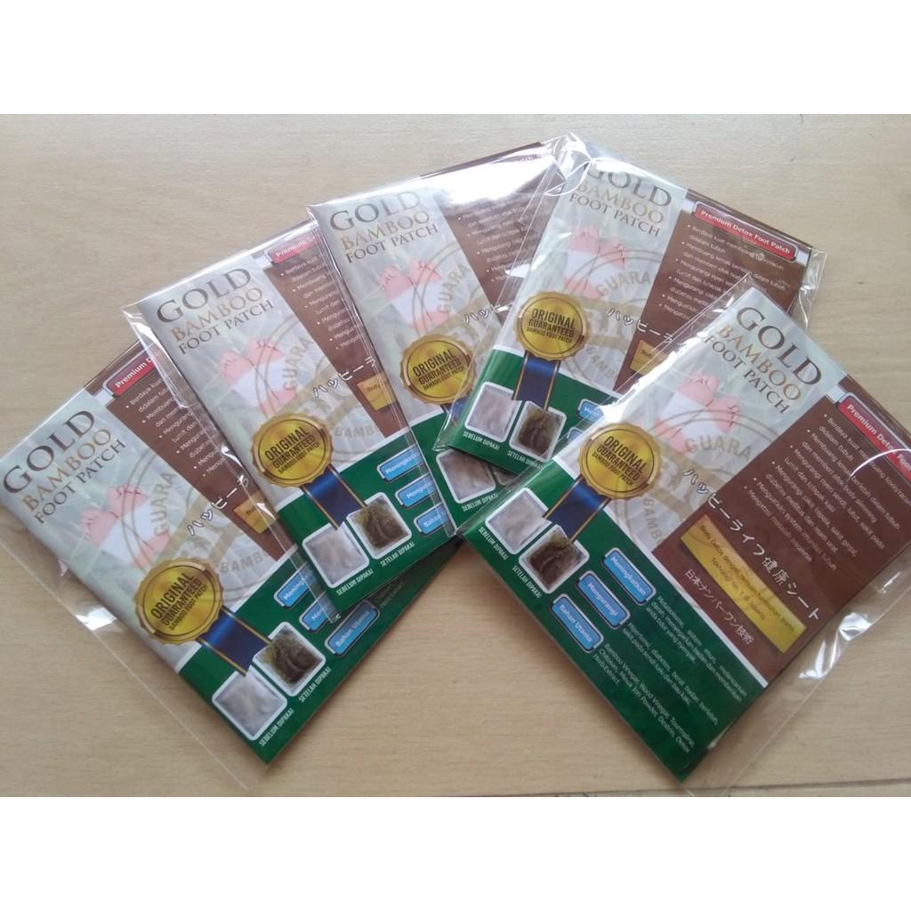 Up To 26 Discount From Brand Bamboo Gold Foot Patch Koyo Kaki Original Penyerap Racun Tubuh Promo 100 Detox Herbal