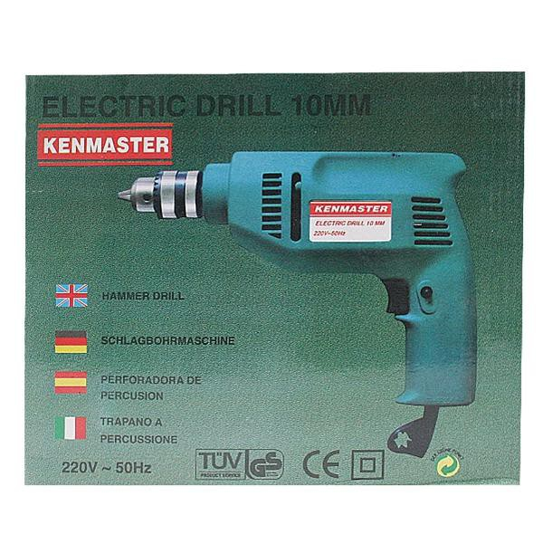 Kenmaster Electric Drill 10MM / Bor ...