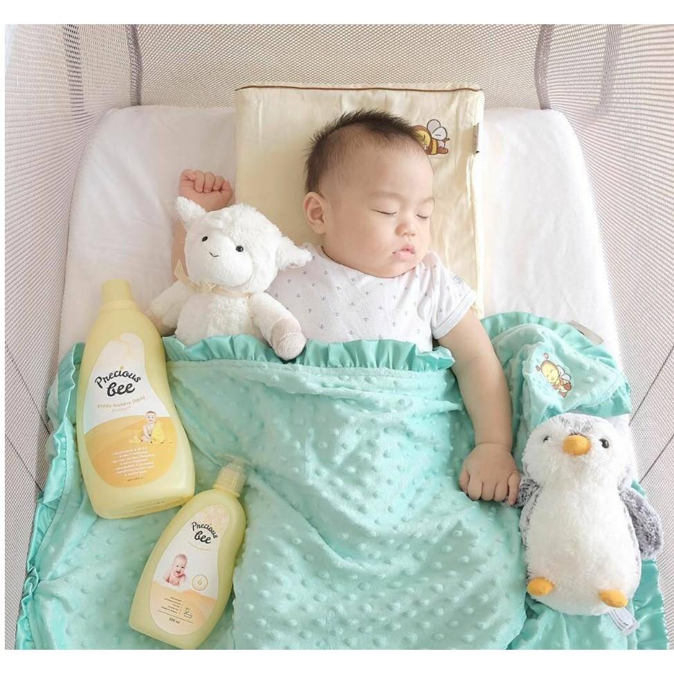 Babybee Cuddle Blanket Selimut Bayi Baby Bee Shopee Indonesia Mini Pillow