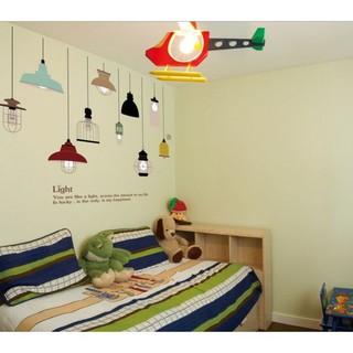 stiker dinding wallpaper 60x90cm motif karakter klasik