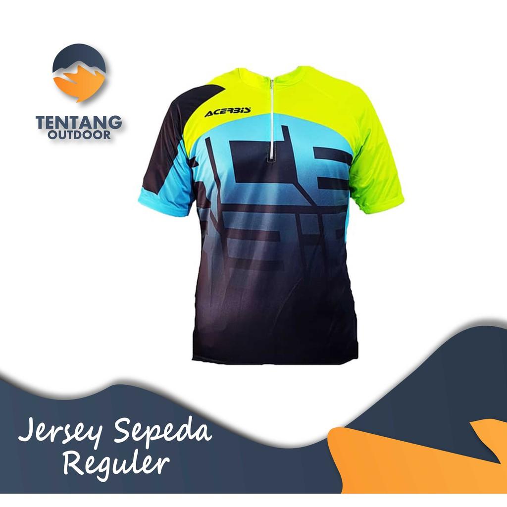 Baju Kaos Jersey Sepeda Gowes Lengan Panjang C071 FOX Downhill MTB DH | Shopee Indonesia