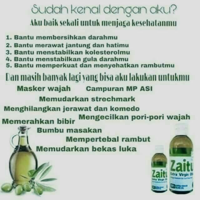 Extra Virgin Olive Oil Hpai Minyak Zaitun Hni Bisa Diminum Dan Untuk Masker Shopee Indonesia