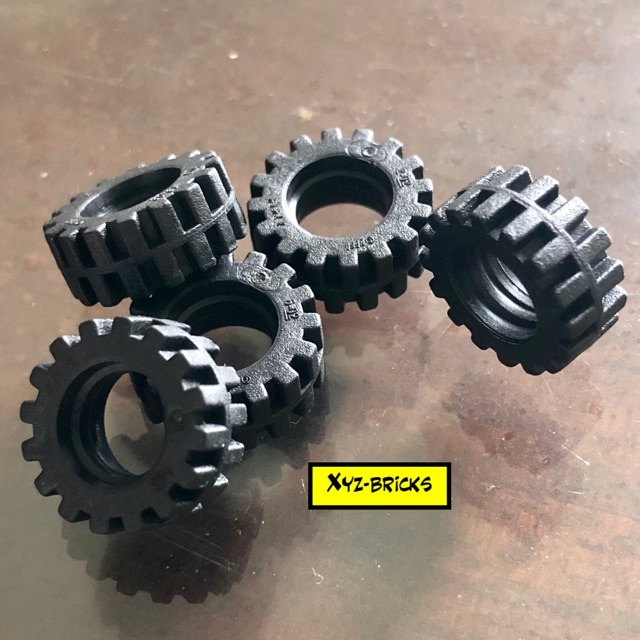 4211764 4568644 Lego City Wheels And Tyres Combo New.
