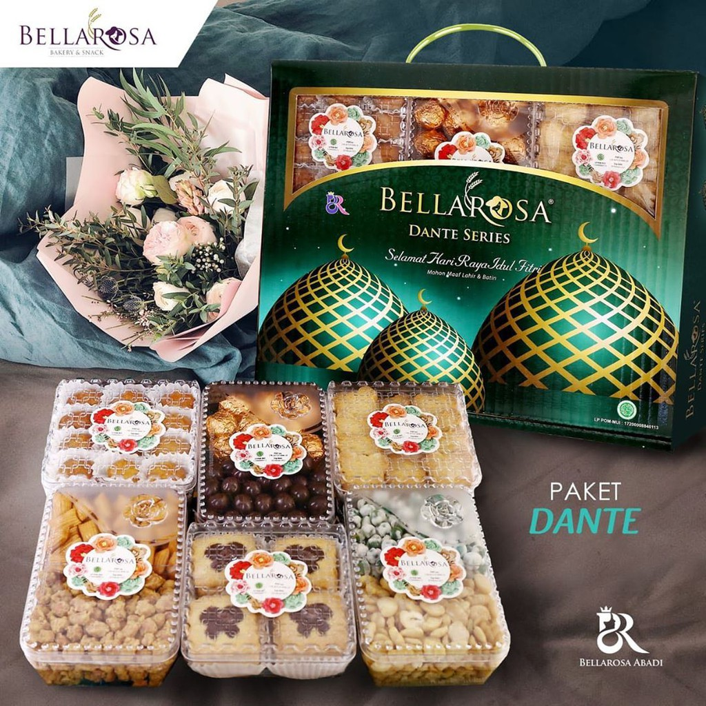 Kue Lebaran BELLAROSA DANTE / Paket Kue Kering/Kue Lebaran ...