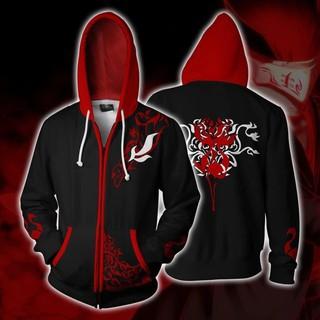 Super Hero Iron Fist 3D Printing Hoodie Sweatshirts Cosplay Jacket Hooded Coat