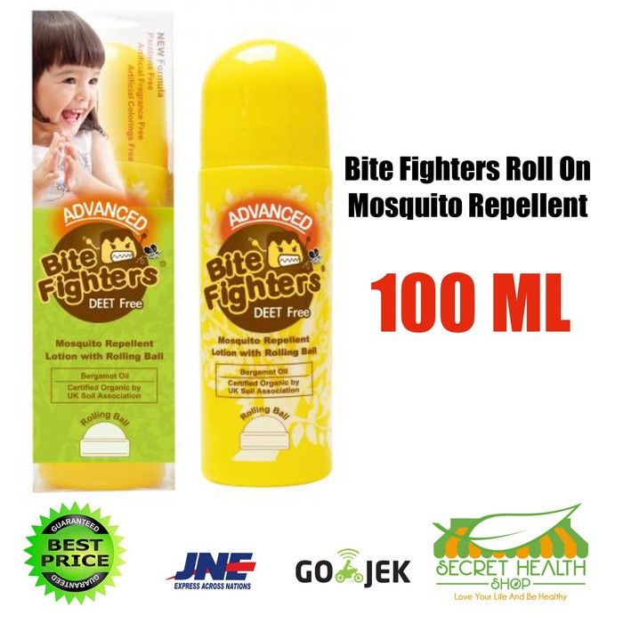 Bite Fighters Mosquito Repellent Roll On 30 ML US Baby Obat Anti Nyamuk Bayi Anak Balita | Shopee Indonesia