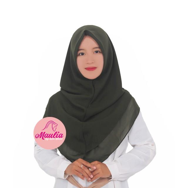 Hijab Kerudung Jilbab Instan Murah Syari Kekinian Bergo Khimar Instant Tanpa Pet Double Layer Part I Shopee Indonesia