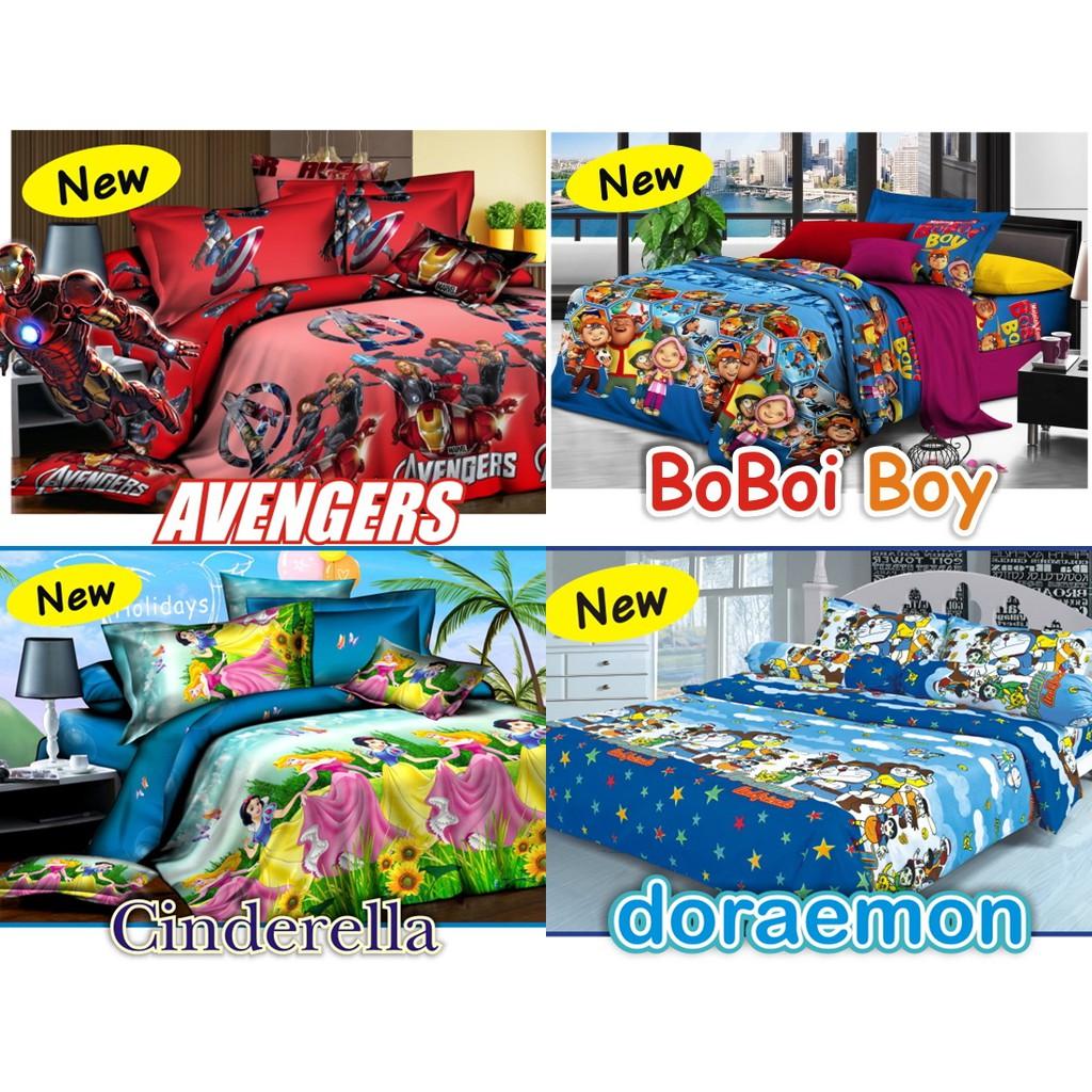 Sprei Polos Asli Rosewell Katun Microtex Uk Single 90 100 120 Chelsea Bed Cover Set 120x200cm A124 Biru Shopee Indonesia