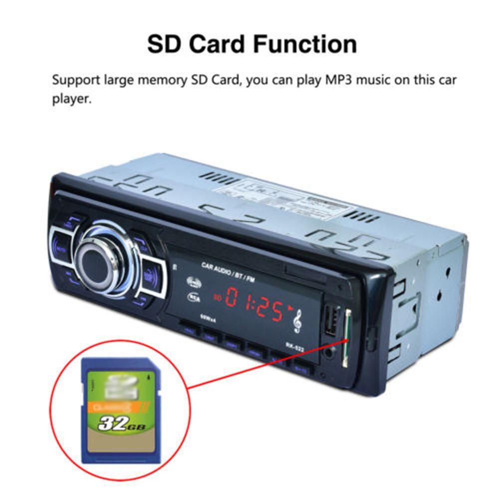 Bluetooth Car Kit Mp3 Fm Transmitter Radio Adapter Aux Usb Sd Mobil Dgn Card Slot Free Kabel Transmiter Modulator Charger Handsfree Shopee Indonesia