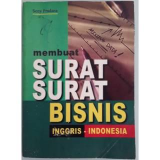 Buku Surat Surat Bisnis Bahasa Inggris Dan Indonesia