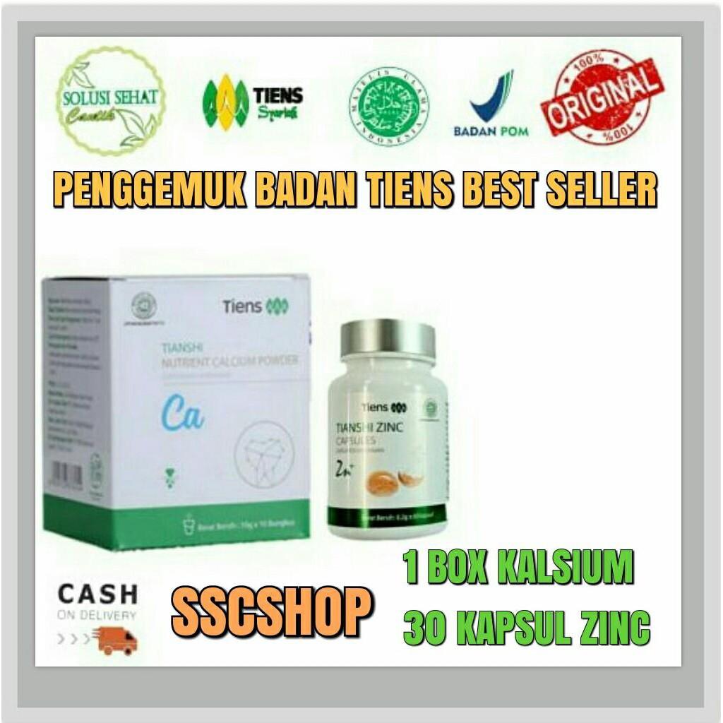 Tianshi Zinc Capsules - Penggemuk Badan Herbal Tiens Zinc - Kemasan 30 Kapsul   Shopee Indonesia