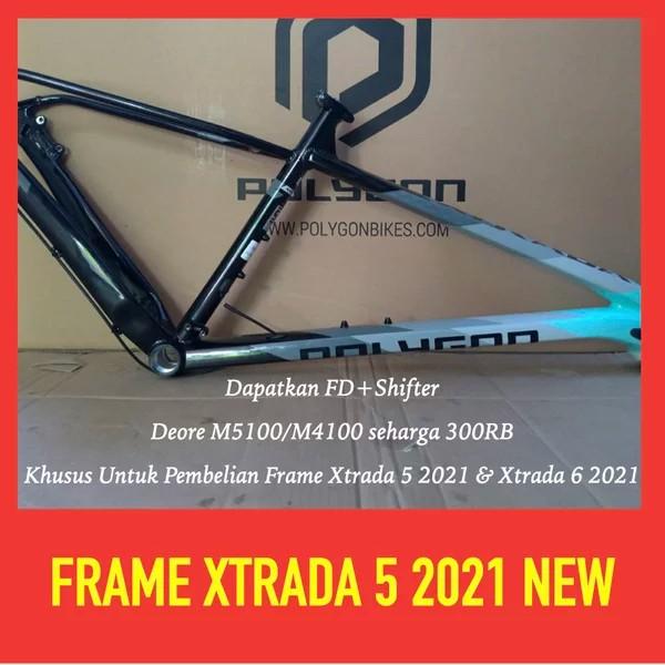 Frame Sepeda Polygon xtrada 5 2021