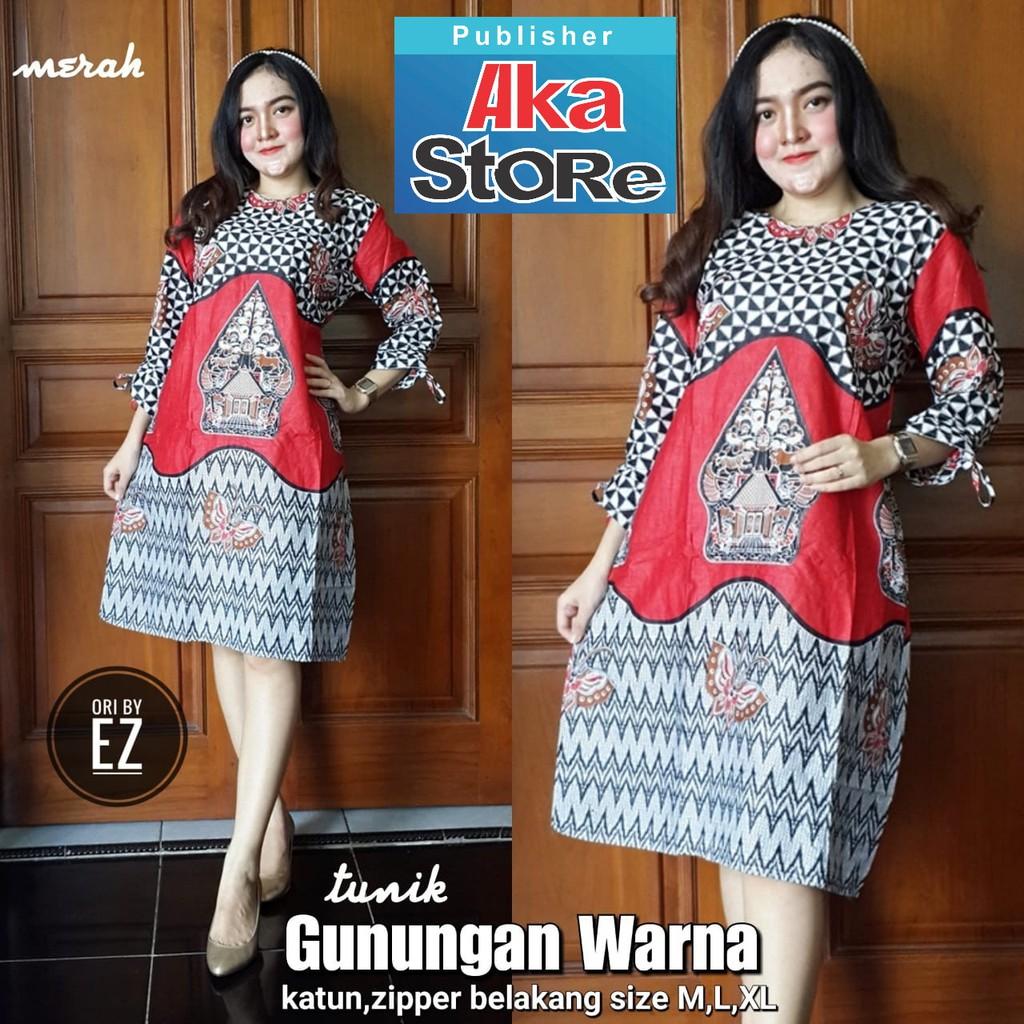 Batik Warna Merah Dress Temukan Harga Dan Penawaran Online Terbaik Arjuna Weda Sackdress Cumikan Biru Navy M November 2018 Shopee Indonesia