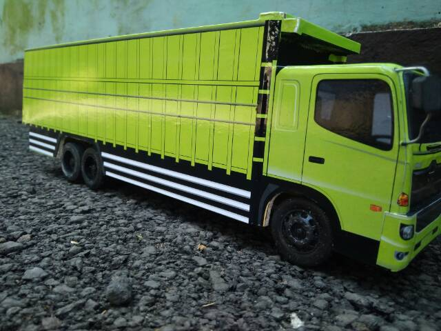 Miniatur Truk Hino Ranger 500 Shopee Indonesia