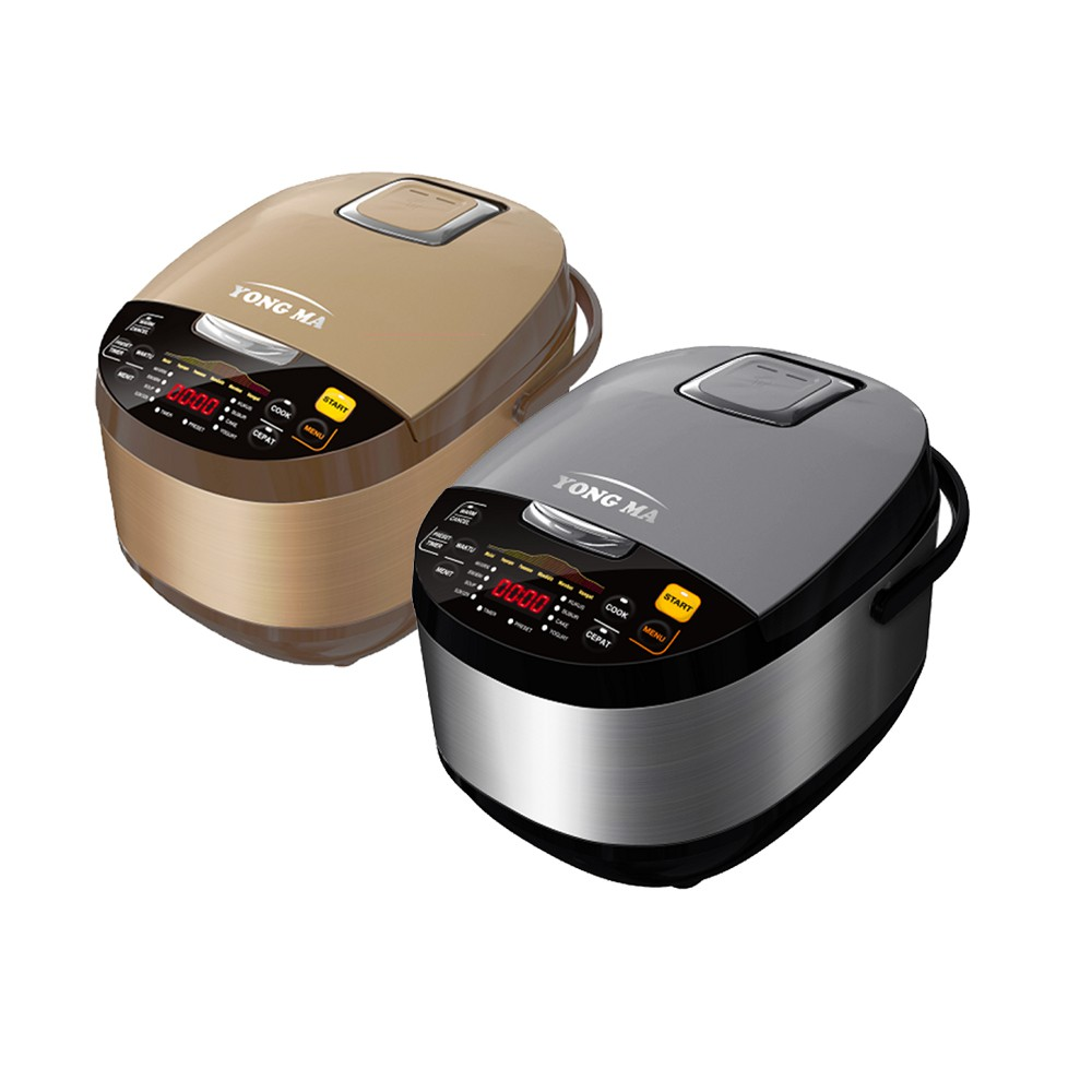 YONG MA Digital Rice Cooker Stainless 2 Liter - SMC7047 | Shopee Indonesia