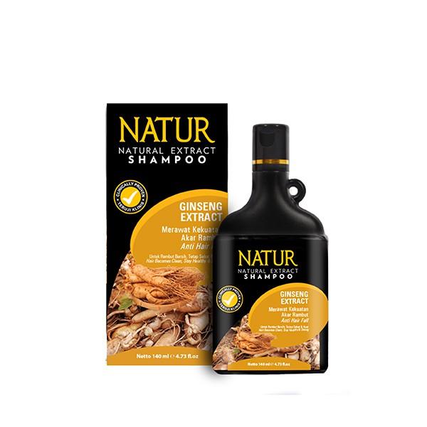 Natur Shampoo Extract Gingseng 140 Ml | Shopee Indonesia