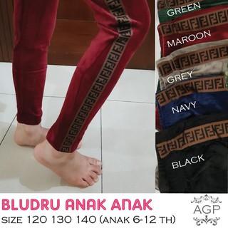 Celana Legging Bludru Velvet Anak Tanggung Size 120 130 140 Legging Bludru Import Shopee Indonesia