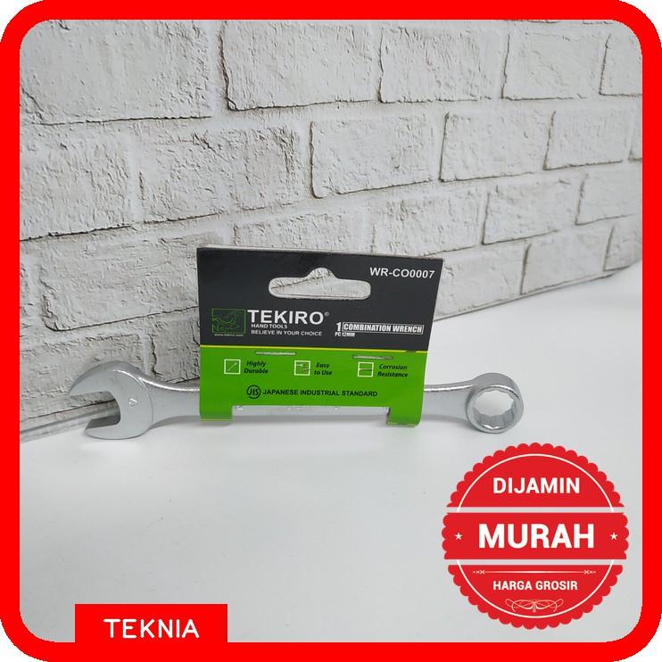 Kunci Ring Pas Tekiro 12mm / Ring Pas Tekiro