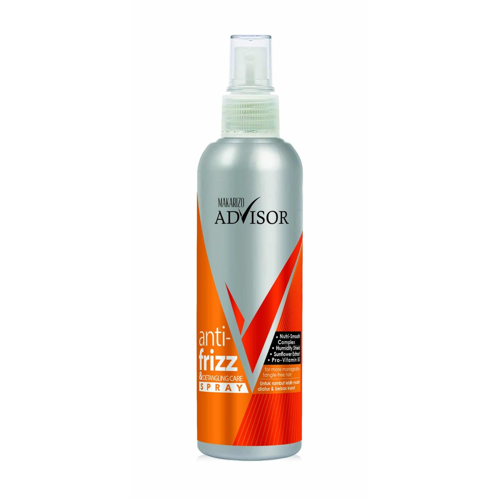 Makarizo Advisor Anti Frizz Spray 240 ml | Shopee Indonesia
