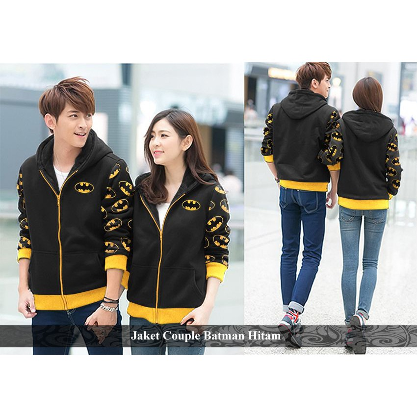 jaket couple puma - pakaian couple- outer couple murah - jaket couple puma poket hitam | Shopee Indonesia