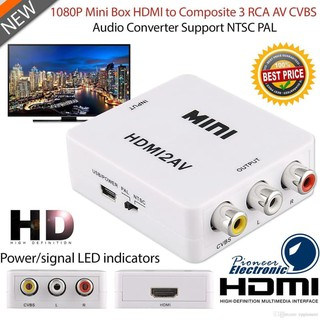 HDMI to AV RCA converter adapter