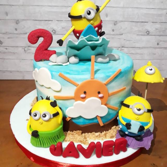 Kue Ulang Tahun Kue Ultah Cake Ultah Minion