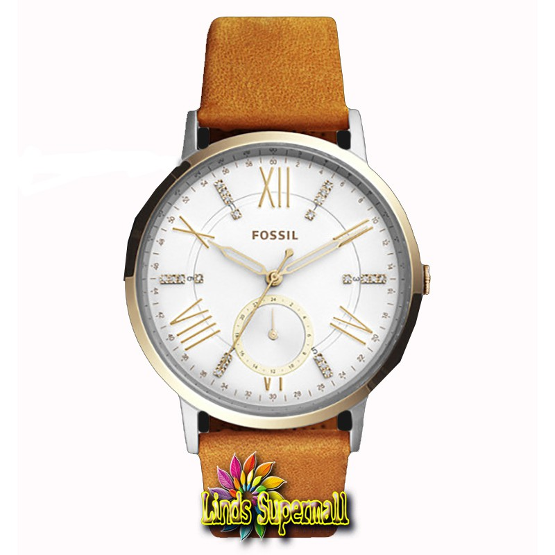Jam Tangan Pria Fossil FS5116 Brown Dial Brown Leather Strap | Shopee Indonesia