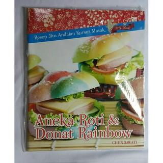 Buku Aneka Roti Donat Rainbow Original Shopee Indonesia