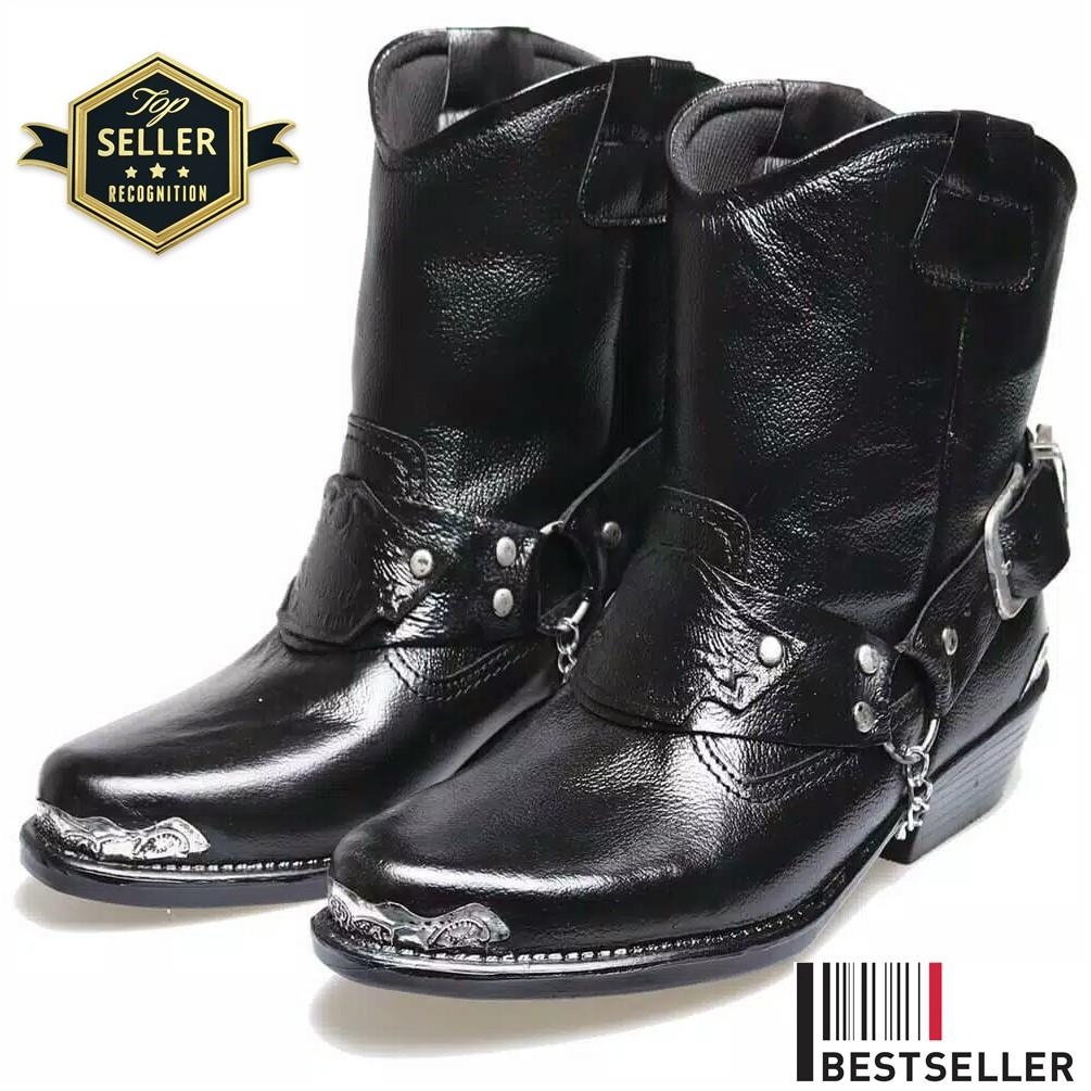 boots+klasik+cowboy+ +biker+boots+ - Temukan Harga dan Penawaran Online  Terbaik - Januari 2019  d58ef6eab7
