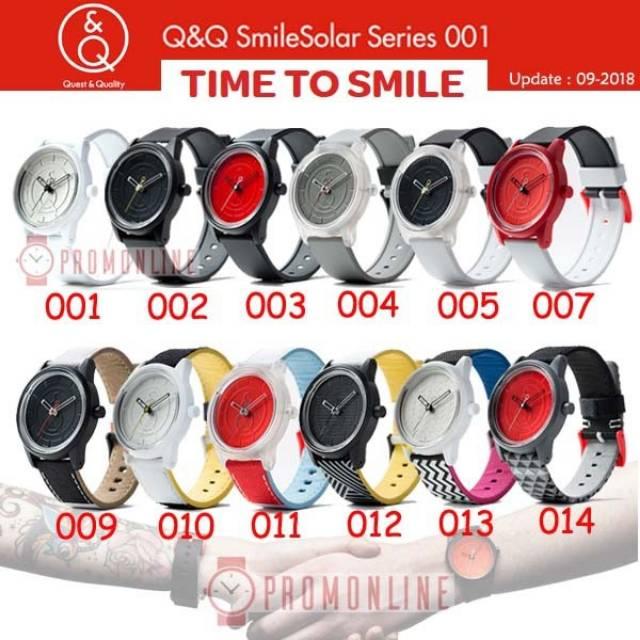 Q&Q Original Smile Solar RedList (New Limited Edition) | Shopee Indonesia