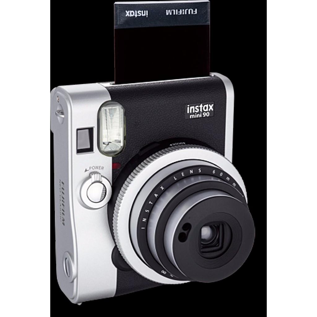 Promo Fujifilm Instax Mini Neo 90 Classic Brown Instant Camera Wide Film Monochrome Single 40 Lembar Shopee Indonesia