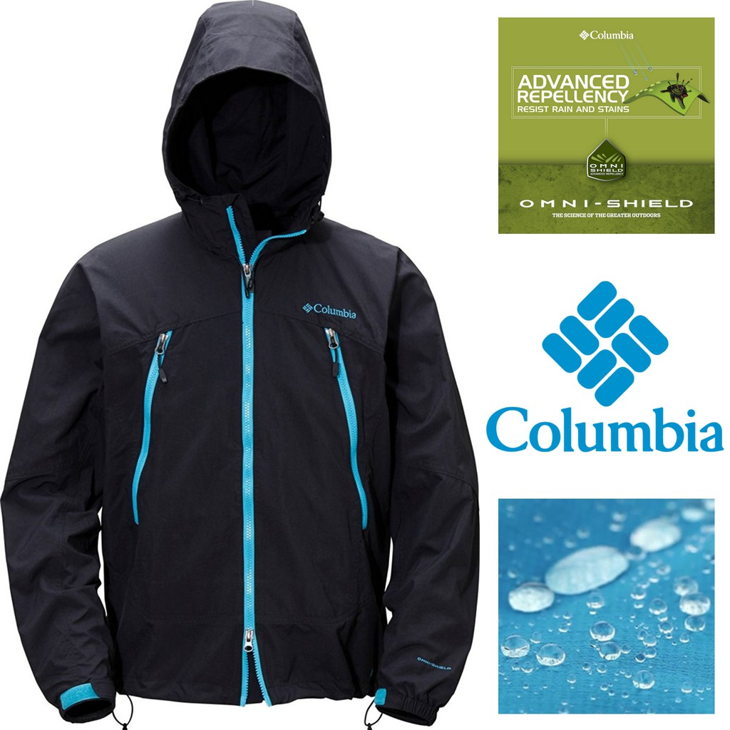 JAKET COLUMBIA MEN OMNI-SHIELD BIBBINS MOUNTAIN PARKA HOODIE OUTDOOR LIGHTWEIGHT JACKET SIZE XL | Shopee Indonesia