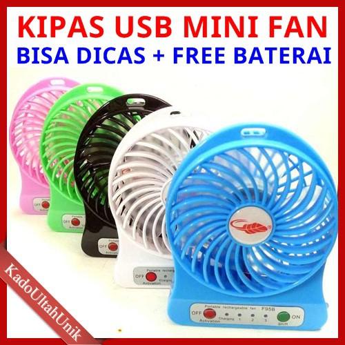 [Bayar Di Tempat]??NL Kipas Angin Mini Portabel Tanpa Suara USB Fan Laptop Computer PC | Shopee Indonesia
