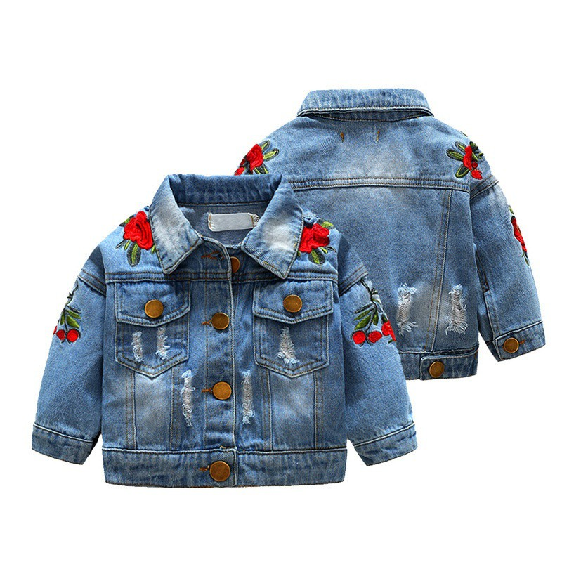 Jaket Parasit Parasut Bulu Anak Perempuan Cewek Bunga  1cfc5ee0e8