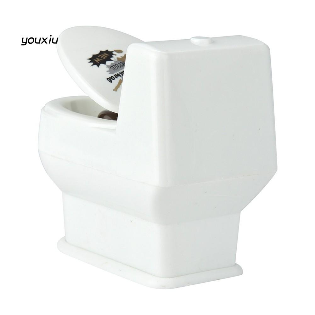 Fun Tricky Prank Squirt Spray Water Toilet Closestool Joke Gag Toy Desktop Gifts