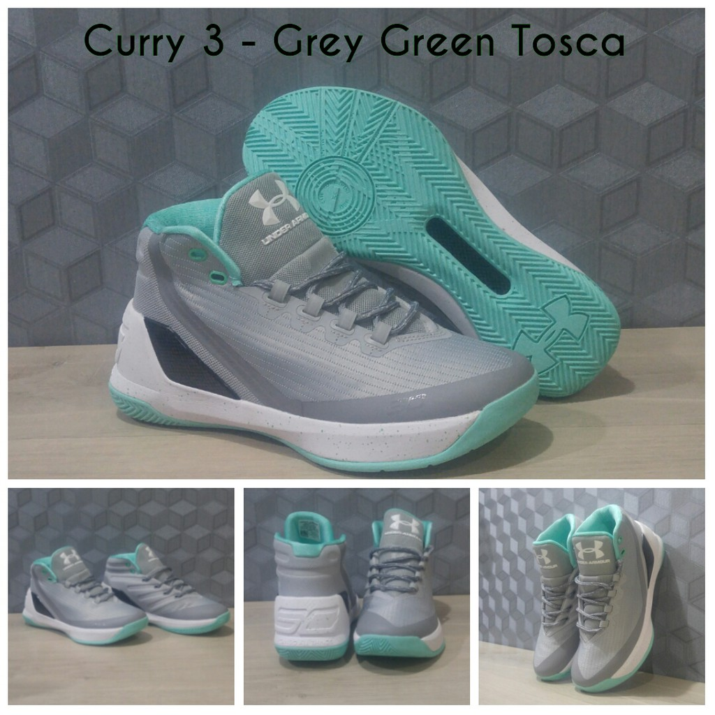 fa206a300ce3 Promo Sepatu Basket Under Armour UA Curry 3 - Grey Tosca Diskon ...