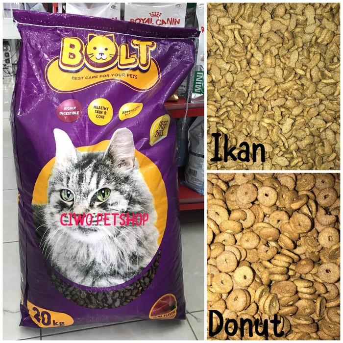 Bolt Tuna Repack 500 Gr Makanan Kucing Murah Bolt Tuna Paling